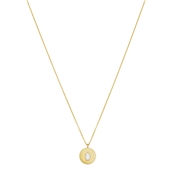 Argento Gold Opal Pear Necklace