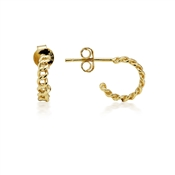 Argento Gold Link Chain Earring