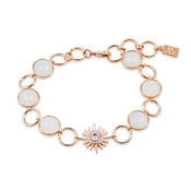 Rose Gold Opal Star Bracelet by August Woods