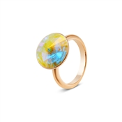 August Woods Rose Gold Arctic Adjustable Ring