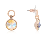 August Woods Rose Gold Arctic Drop Earrings