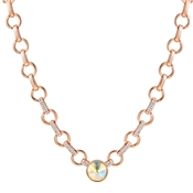 August Woods Rose Gold Arctic Necklace