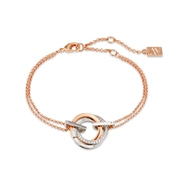August Woods Rose Gold Trio Sparkle Bracelet