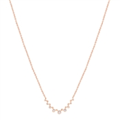 Argento Rose Gold Elegance Crystal Necklace