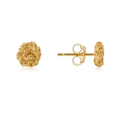 Argento Gold Nugget Stud Earrings