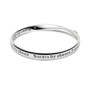 August Woods Affirmation Sister Friend Bangle
