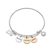 Karma Serenity Courage Wisdom Bangle