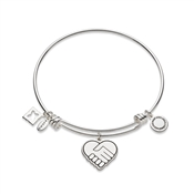 Karma Silver We Rise Bangle