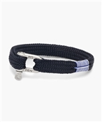 Pig and Hen Sharp Simon Navy Bracelet