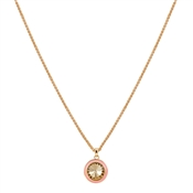 August Woods Pink & Gold Necklace