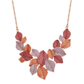 August Woods Autumn Leaves Statement Necklace