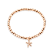 August Woods Rose Gold Starfish Bracelet