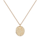 Ted Baker Gold Moonrock Pebble Necklace