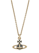 Gold Montana Mayfair Bas Relief Necklace by Vivienne Westwood