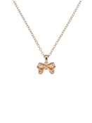Ted Baker Gold Petite Bow Necklace