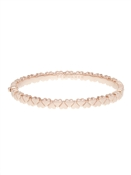 Ted Baker Rose Gold Heart Hinged Bangle