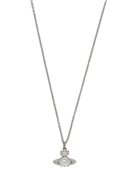 Silver Crystal Ismene Necklace  by Vivienne Westwood