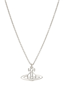 Vivienne Westwood Silver Thin Lines Orb Necklace