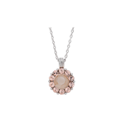 Lily & Rose Sofia Pink Oyster Necklace