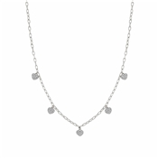 Nomination Silver Multi Crystal Heart Easychic Necklace