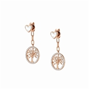 Nomination Rose Gold Vita Tree Of Life Earrings