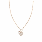 Nomination Rose Gold Vita Hearts Necklace