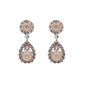 Lily & Rose Sofia Pink Oyster Drop Earrings
