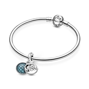 Pandora Glitter Globe Mum Dangle Charm