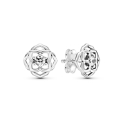 Rose Petals Stud Earrings by Pandora