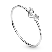 Pandora Moments Winged Heart Bangle