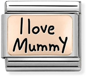 Nomination Rose Gold I Love Mummy Charm
