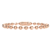Rebecca My World Rose Gold Ball Bracelet