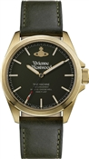Vivienne Westwood Gold Camden Lock Green Watch