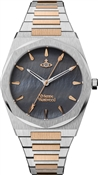 Vivienne Westwood Mixed Metal + Grey Limehouse Watch