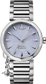 Vivienne Westwood Silver + Light Blue Poplar Watch