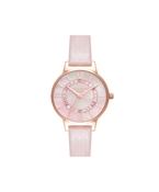 Olivia Burton Pink & Rose Gold Wonderland Sparkle Watch