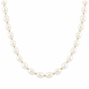 Nomination Kate Gold White Pearl Necklace