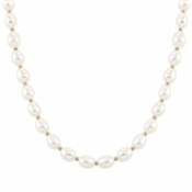 Nomination Kate Rose Gold White Pearl Necklace