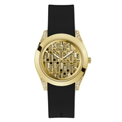 Guess Gold & Black Clarity Watch