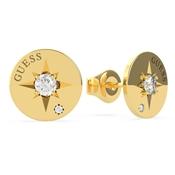 Guess Gold Wanderlust Compass Earrings