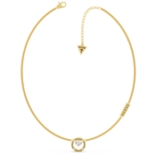 Guess Gold All Around You Circle Necklace