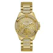 Guess Gold Lady Frontier Crystal Watch