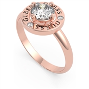 Guess Rose Gold All Around You Circle Ring 54