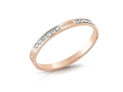 Guess Rose Gold Love Crystal Bangle