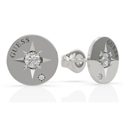 Guess Silver Wanderlust Compass Earrings