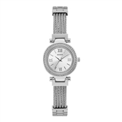 Guess Silver Mini Crystal Soho Watch