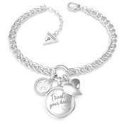 Guess Trust Your Heart Bracelet