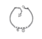Guess Uptown Chic Pearl Logo Bracelet