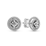 Pandora Sparkling Double Halo Stud Earrings
