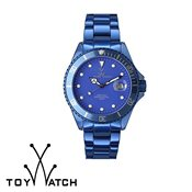 ToyWatch Metallic Indigo